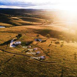 Aerial view of Glenayr Farm